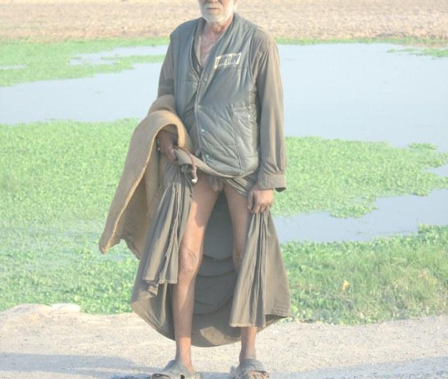 Nude Old Man By Sarmad Nayak