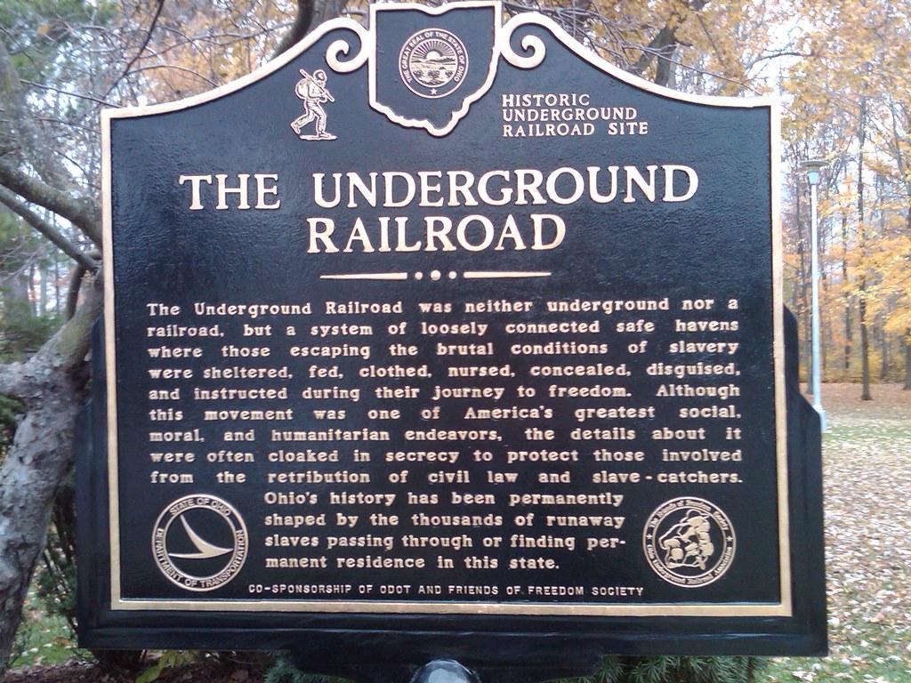 Underground Railroad In Ohio
