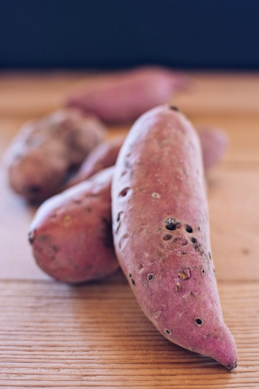 locally grown sweet potatoes