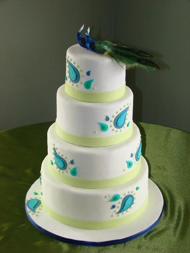 peacock wedding cake   4 tiered wedding cake with paisley de      Flickr peacock wedding cake   by sweetcakesbyrebecca peacock wedding cake   by  sweetcakesbyrebecca
