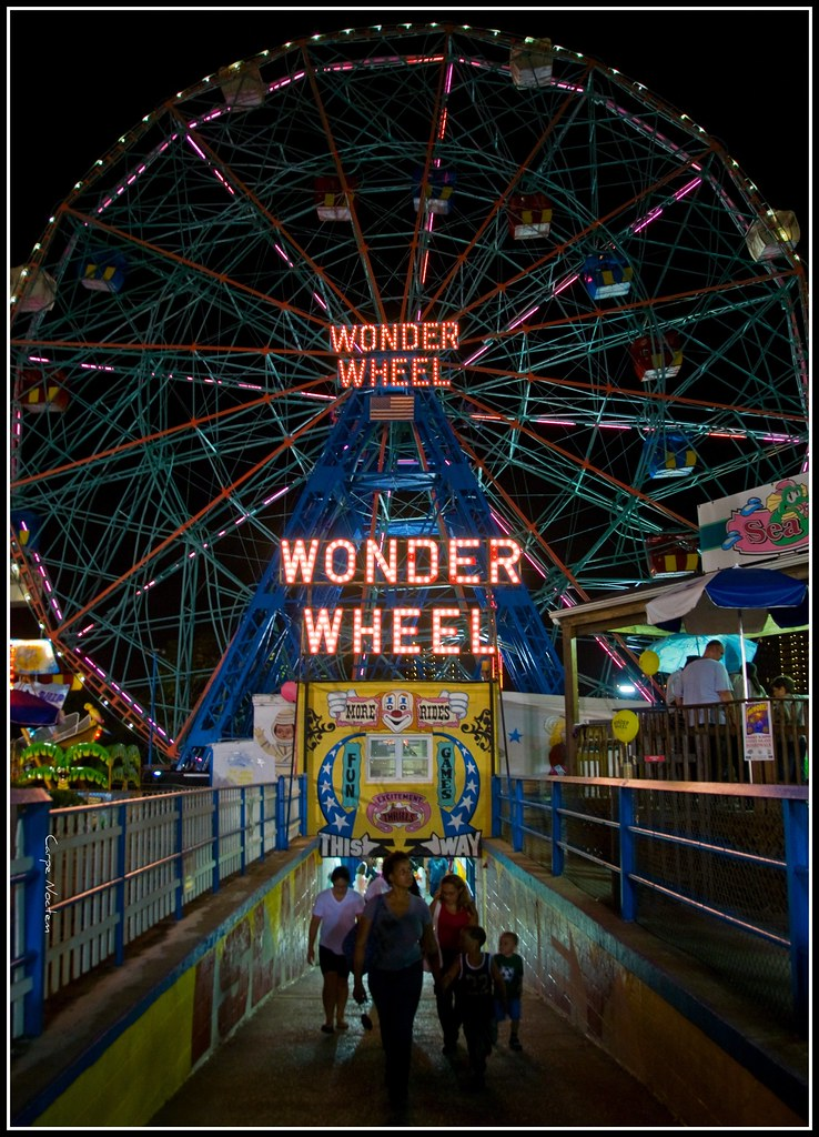 The Wonder Wheel History During Its Heyday Coney