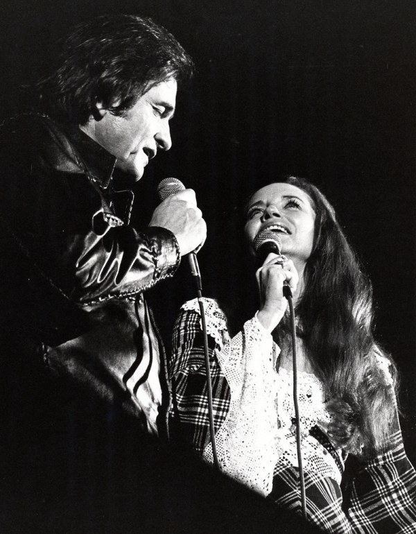 Johnny Cash and June Carter | Concert stills made during ...