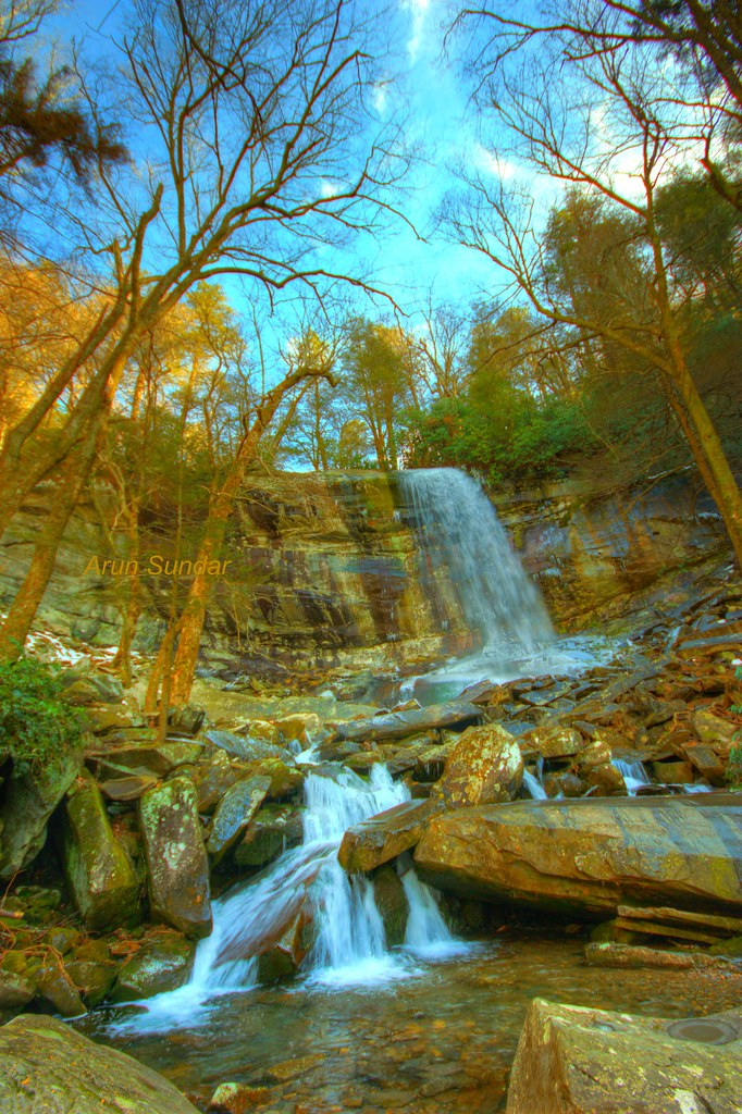 Rainbow Falls Smoky Mountain National Park Photographed Flickr
