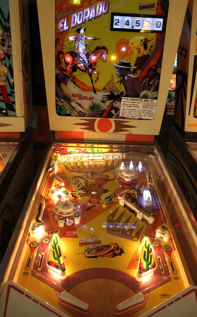 Another Cool Pinball Machine With An American Western Them