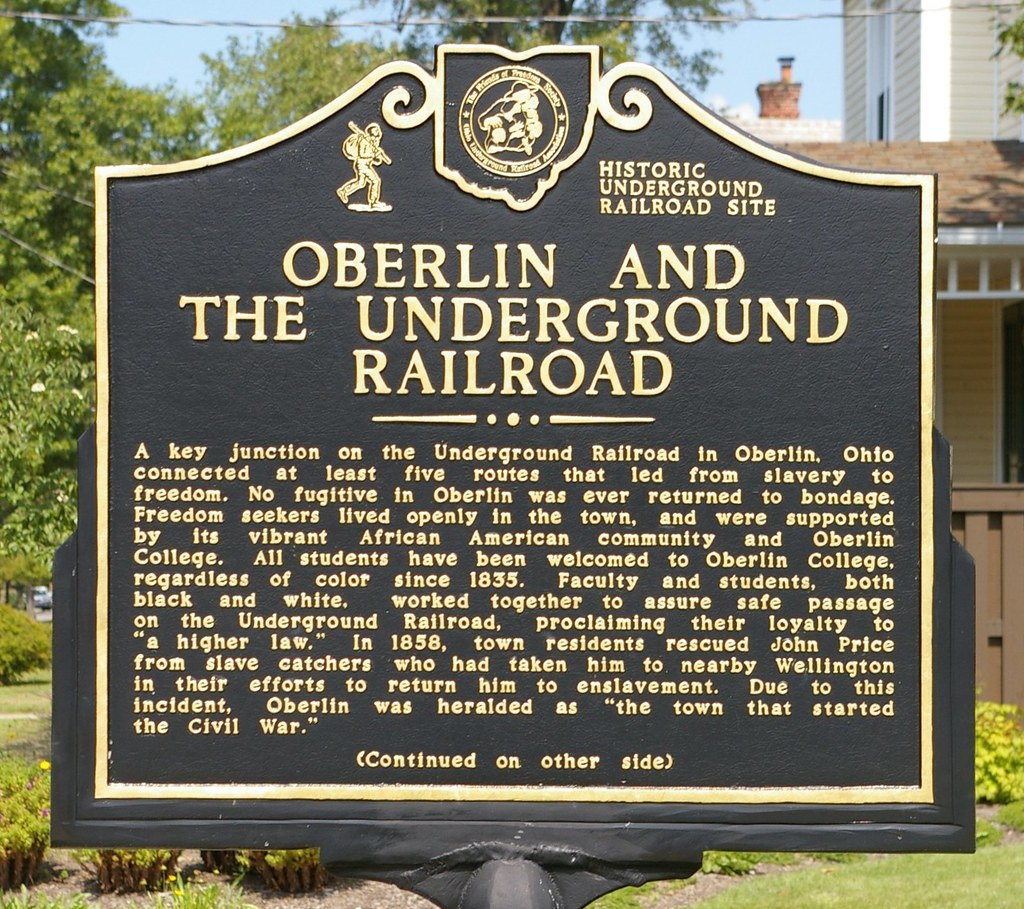Oberlin And The Underground Railroad