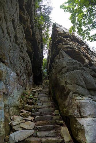 The Stone Door Stone Door Trail Savage Gulf Grundy Coun