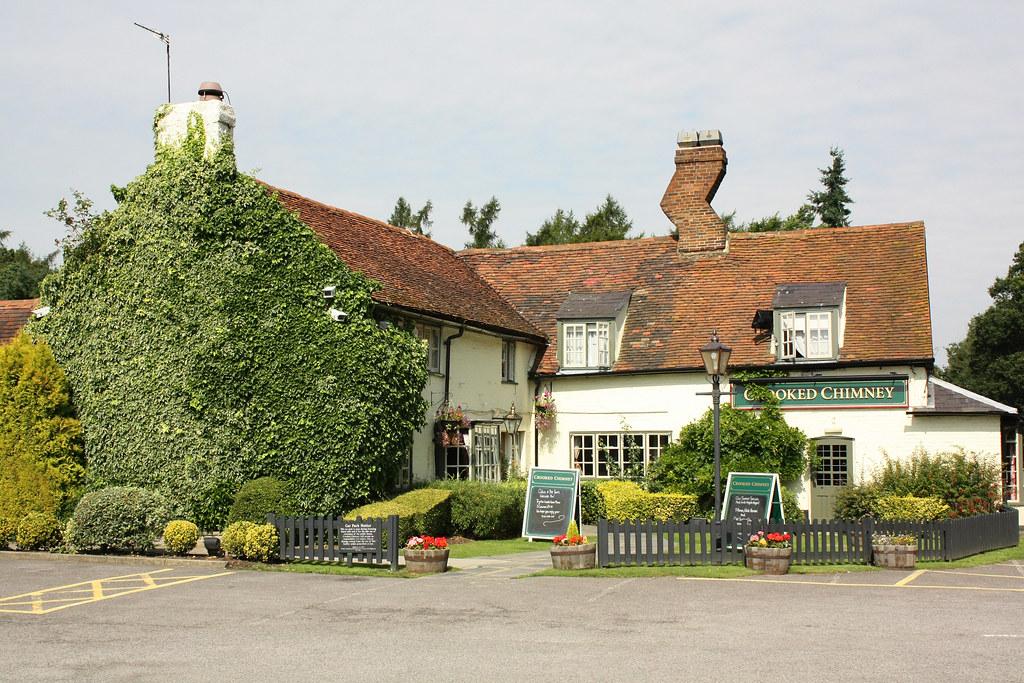 The Crooked Chimney Pub Near Welwyn Garden City On The