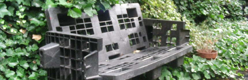 Recycled Garden Furniture I Found This Nice Former Pallet Flick