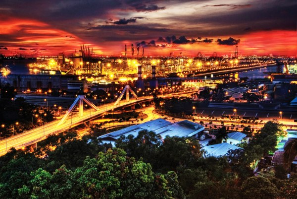 Aerial View of Jurong Island from Hill Top Singapore Flickr