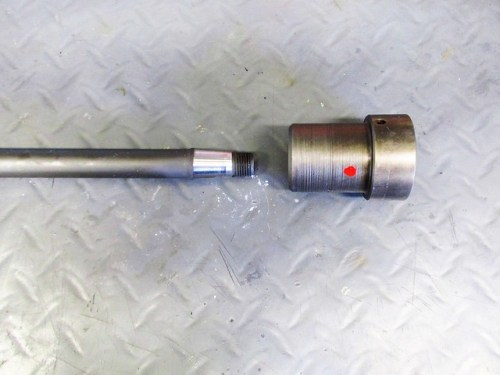 Drive Shaft Tapered End with Coupling
