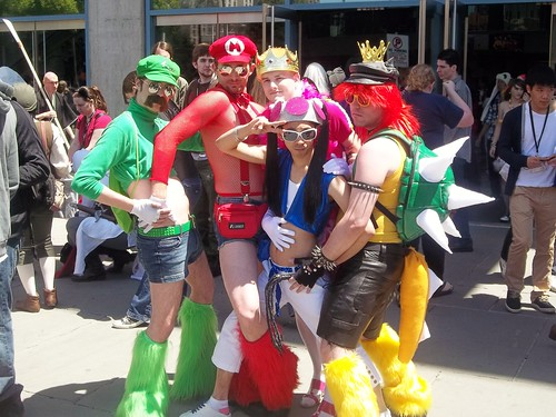 Super Yaoi Mario Brothers One Of The Greatest Cosplays
