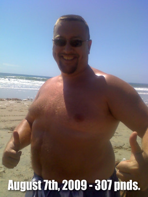 Yesterdays Fat Guy Rex Harris 307 Pound Photo This Is My