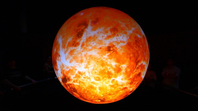 Venus | The planet Venus on NASA's Big Blue Marble. I took ...