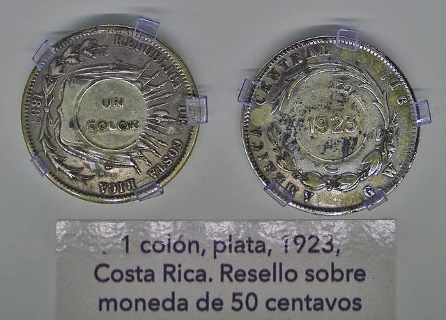 Monedas Años 1900-1950 Museo Numismática Banco Central San José de Costa Rica 20
