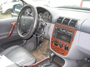 98 Mercedes ML320 interior stock #0145P9 | 1998 MercedesBe… | Flickr