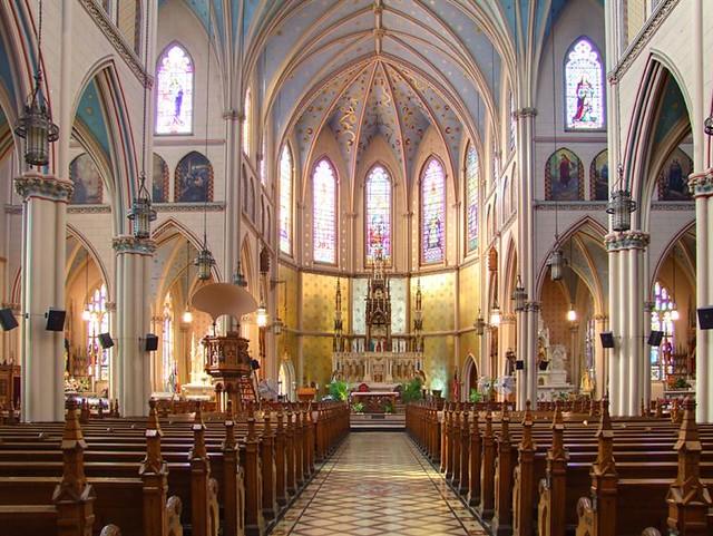 St. Anne Catholic Church, Detroit Michigan   © Ken ...