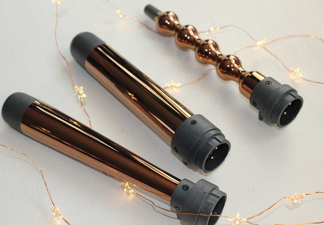 Paul Mitchell Rose Gold Express Ion Unclipped 3 in 1 Styling Wand