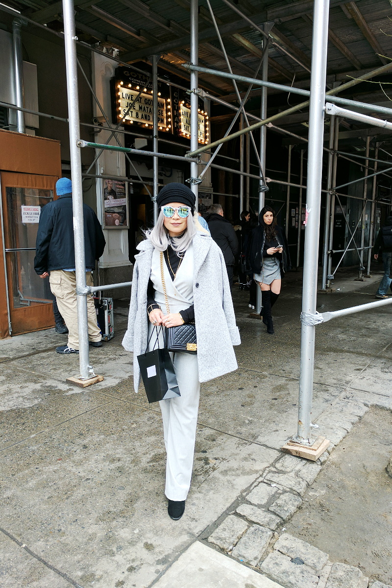 beanie-gray-coat-jumpsuit-white-hair-15