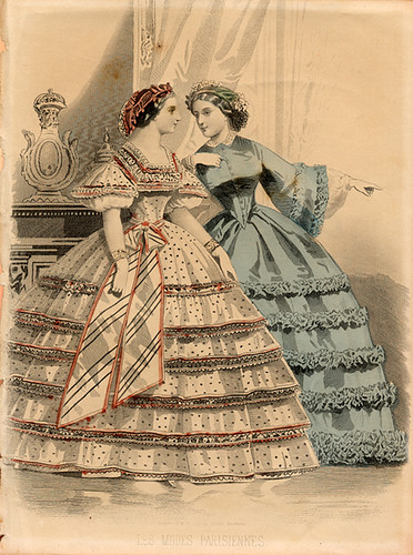 1850s Fashion Plate Demode Flickr