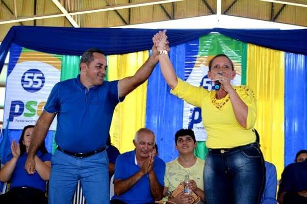 Juiz eleitoral extingue 8 ações do PMDB contra prefeito e vice de Terra Santa, doca e sua vice Eliane