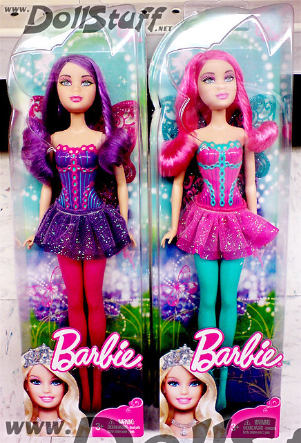 2010 Barbie Fairies These Are The New Basic Fairy Dolls