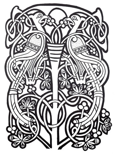Celtic Design 037 Bibliodysseyblogspotcom200907