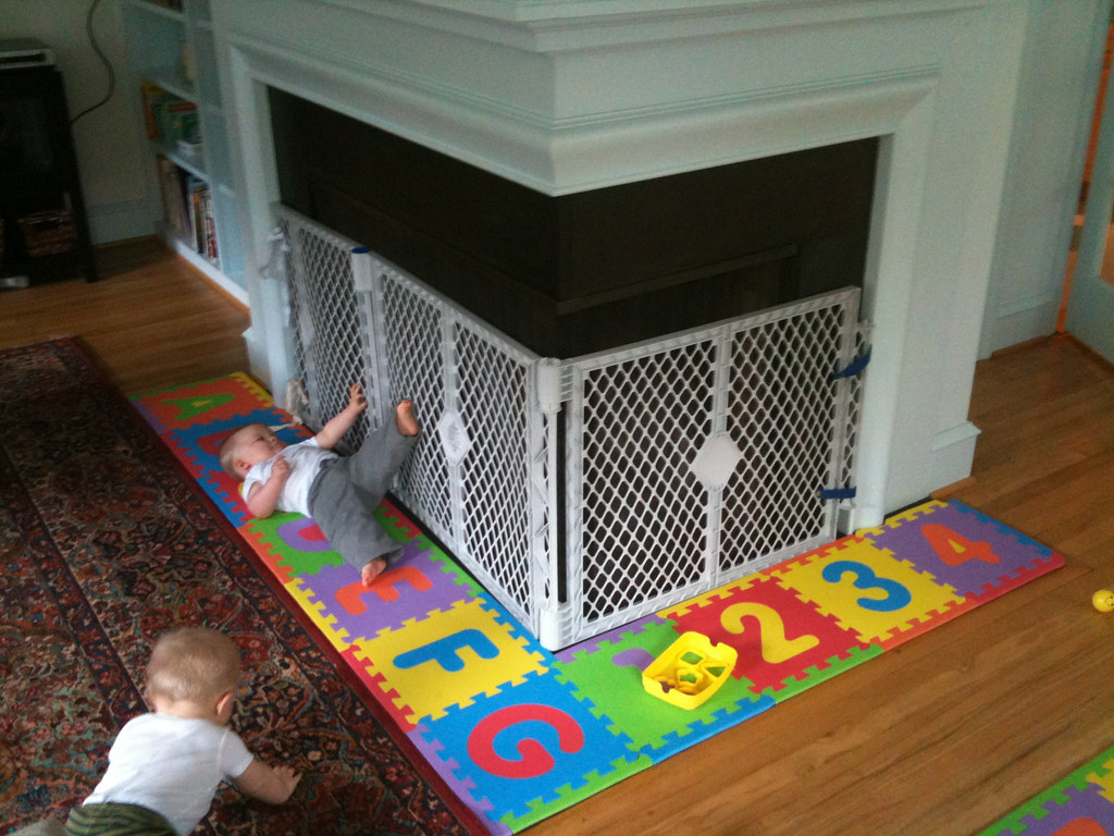Baby Proofing The Fireplace