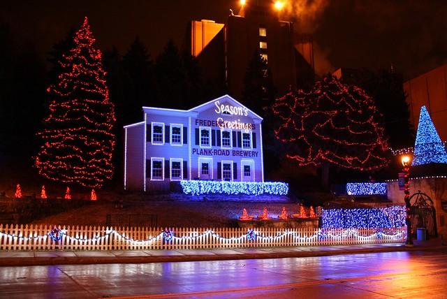 MillerCoors Holiday Lites House Steve Glynn Flickr
