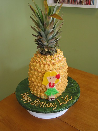 Pineapple Cake Made For My Niece S Birthday That S A