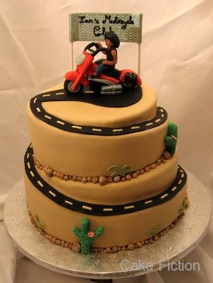 Harley Davidson Motorcycle Cake We Delivered This First