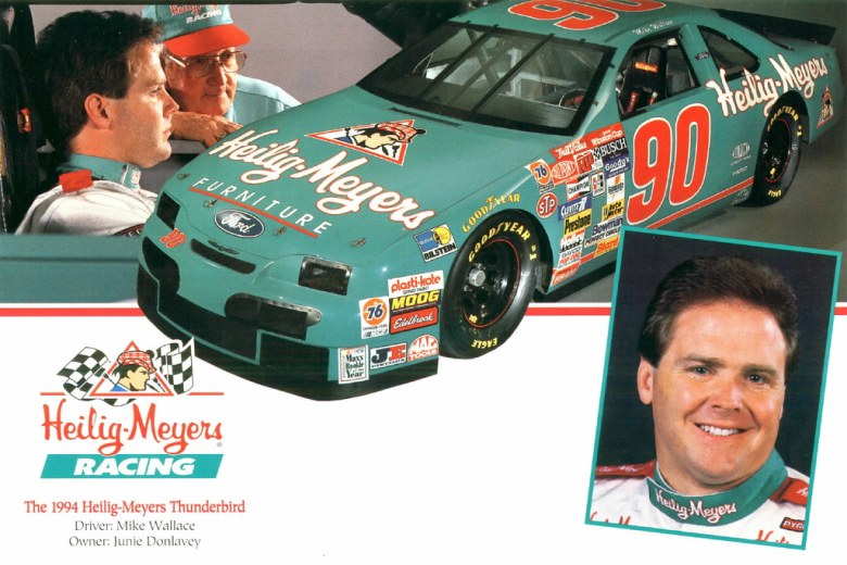1994 Mike Wallace Heilig-Meyers Furniture Ford Thunderbird… | Flickr