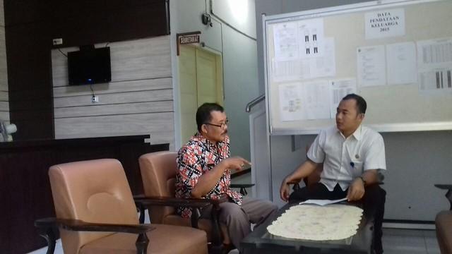 Kunjungan KPU Tulungagung ke kantor Dinsos KBP3A (16/2)