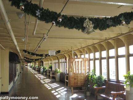 Festive For Christmas Queen Mary Long Beach California