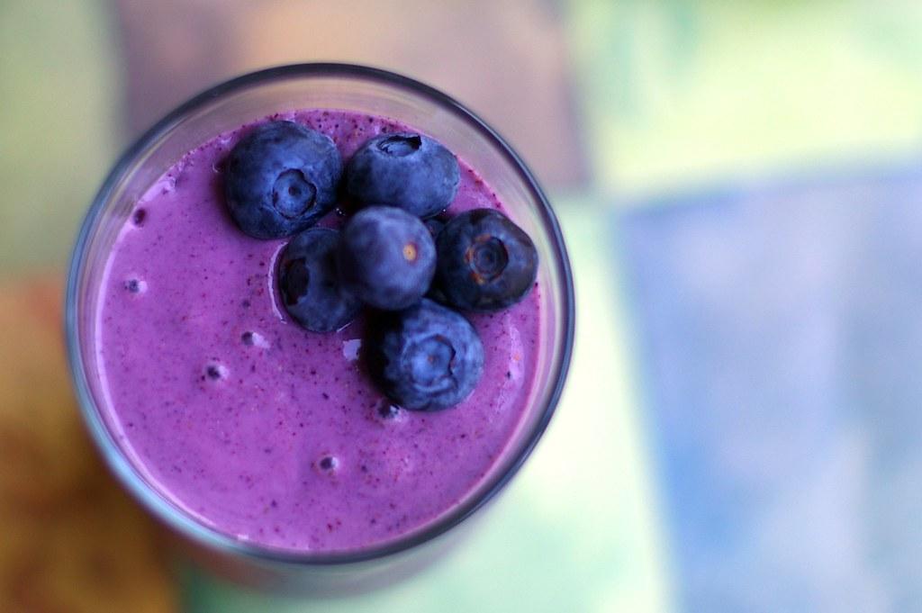 Blueberry Smoothie without Yogurt