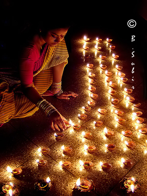 Happy Diwali Diwalior Deepawali Also Called Tihar And