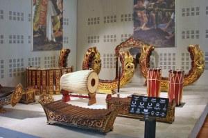 L'orchestre thaïlandais piphat mon (musée de la musique