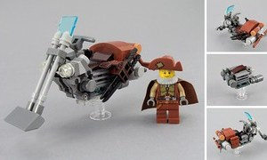 Thomas Hendricks' Bison Speeder Bike
