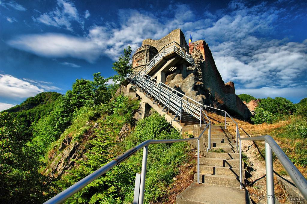 Poenari castle HDR