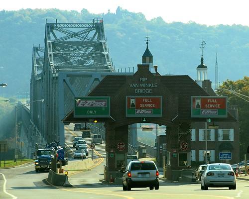 Toll Booths Rip Van Winkle Bridge Hudson River New York Flickr