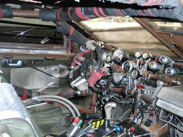 Death Race Car Interior John Rudy Flickr