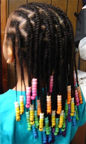 Rainbow Beads N Braids Check Out Those RAINBOW BEADS