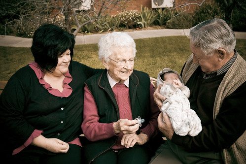 Great Great Grandmother, Great Grandfather and Grandmother ...