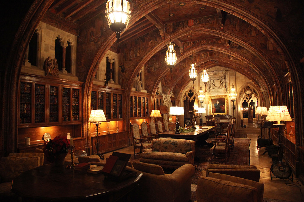 Hearst Castle Upstairs Chamber Art And Architecture From