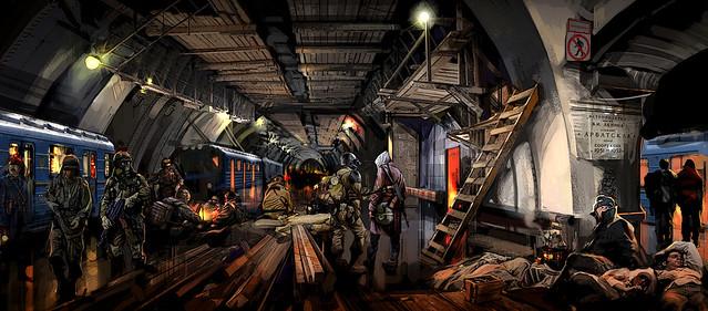 Metro 2033 Concept Art Concept Art For Metro 2033 Set I Flickr