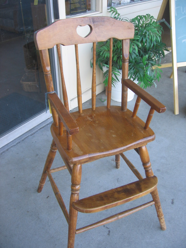 SOLD Toddler Dining Chair Seat Height 23 Arms 28