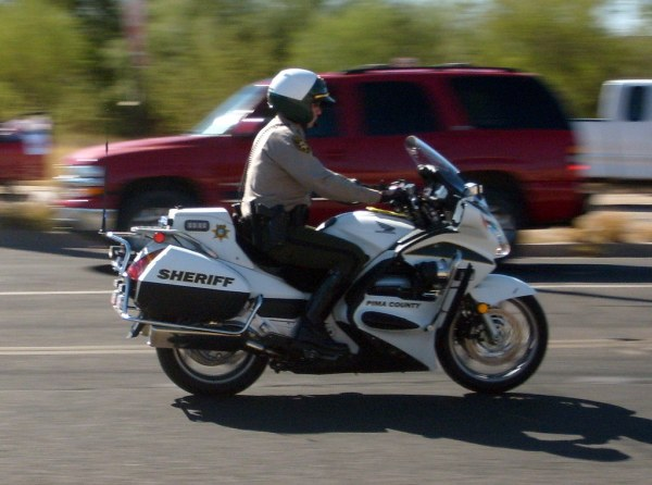 Pima Sheriff Motors | A motor's officer with the Pima ...