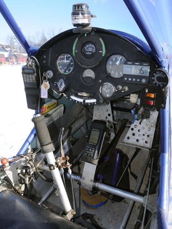 C-IDFQ Quad City Challenger II @ Montebello 23 jan 2010 DS ...