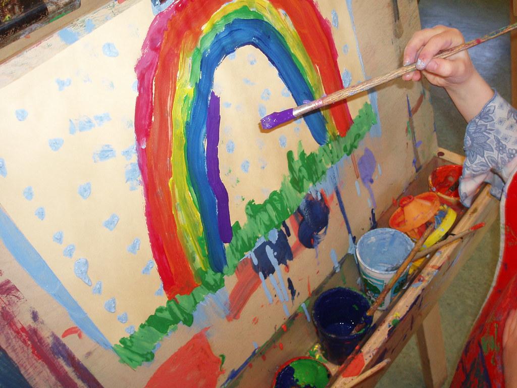 Kindergarten Painting Centre
