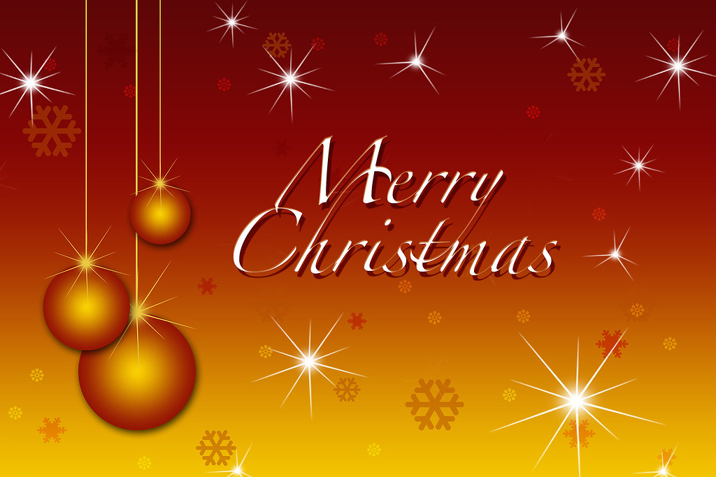 Merry Christmas Gold Wallpaper Sparkle Brush Courtesy Of