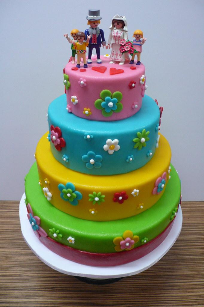 Brady Bunch Wedding Cake Colorful Wedding Cake That I Am